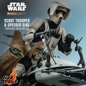 Hot Toys - Scout Trooper and Speeder Bike - Star Wars: The Mandalorian