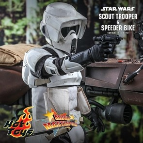 Hot Toys - Scout Trooper and Speeder Bike - Star Wars - Return of the Jedi