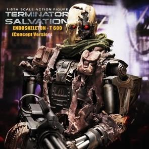 Hot Toys - Terminator - Salvation - Endoskeleton T-600 - Concept Version