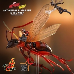 Hot Toys - The Ant-Man on Flying Ant and the Wasp - Miniature Collectible