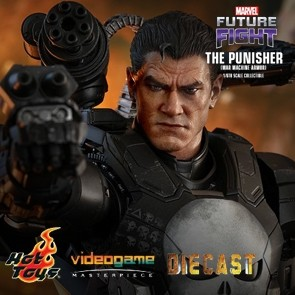 Hot Toys - The Punisher - War Machine Armor - Marvel Future Fight