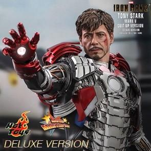 Hot Toys - Tony Stark - Mark V Suit up Version - Deluxe Version