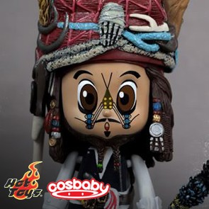 Hot Toys - Cosbaby - Captain Jack Sparrow - Cannibal King Style