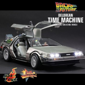 Delorean Time Machine - Back to the Future