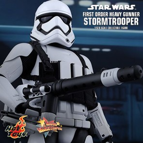 First Order Heavy Gunner Stormtrooper - Hot Toys