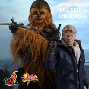 Han Solo & Chewbacca Set - Star Wars - HotToys