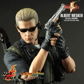 Hot Toys - Albert Wesker S.T.A.R.S. Version - Resident Evil 5 - Ausstellungsstück