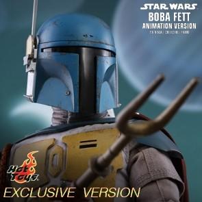 Boba Fett Animation Version - Star Wars: Holiday Special - Hot Toys