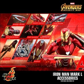 Iron Man Mark L Zubehörset - Avengers - Infinity War - Hot Toy