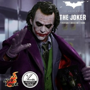 1/4th The Joker - The Dark Knight - Hot Toys