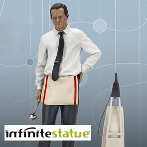 Infinite - Jack Lemmon - Odd Couple - Old & Rare Statue 1/6