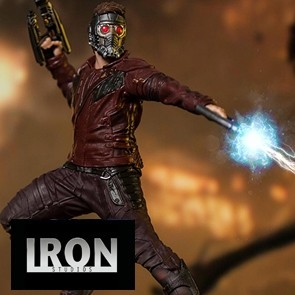 Star Lord - Infinity War - BDS Art Scale Statue - Iron Studio