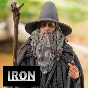 Iron Studios - Gandalf - The Lord of the Rings - Deluxe Art Scale Statue