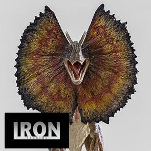 Iron Studios - Jurassic Park - Dilophosaurus - Art Scale Statue