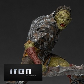 Iron Studios - Swordsman Orc - Lord of the Rings - BDS Art Scale Statue