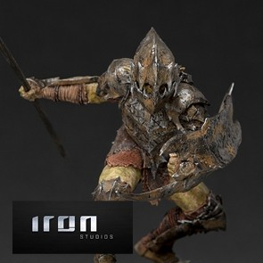 Iron Studios - Armored Orc - Lord of the Rings - BDS Art Scale Statue