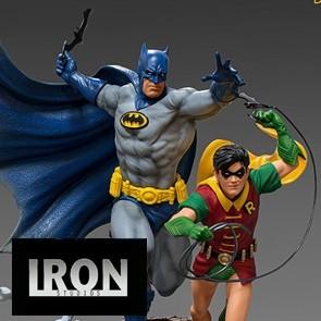 Iron Studios - Batman & Robin - Deluxe Art Scale Statue - Ivan Reis