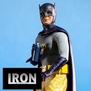 Iron Studios - Batman - 1966 Batman - Deluxe BDS Art Scale Statue