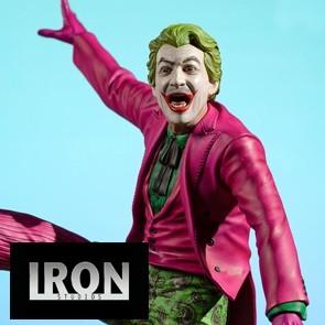 Iron Studios - Joker - Batman 1966 - Deluxe BDS Art Scale Statue