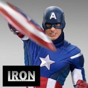 Iron Studios - Captain America 2012 - Avengers: Endgame - BDS Art Scale Statue