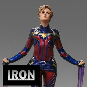 Iron Studios - Captain Marvel - Avengers: Endgame - BDS Art Scale Statue