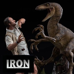 Iron Studios - Clever Girl - Jurassic Park - Deluxe Art Scale Statue