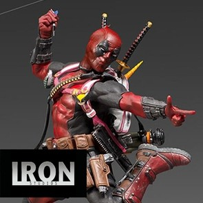 Iron Studios - Deadpool - Marvel Comics - Deluxe Art Scale Statue