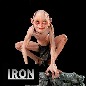 Iron Studios - Gollum - The Lord of the Rings - Deluxe Art Scale Statue