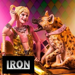 Iron Studios - Harley Quinn & Bruce - Birds of Pray - Deluxe Art Scale