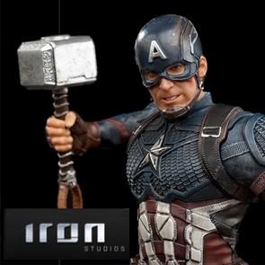 Iron Studios - Captain America Ultimate - The Infinity Saga - BDS Art Scale Statue