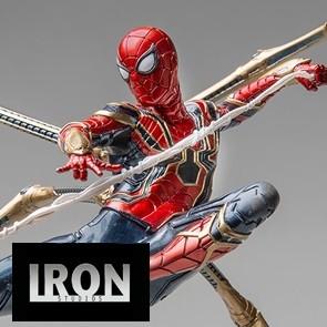 Iron Studios - Iron Spider vs Outrider: Endgame - BDS Art Scale Statue
