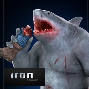 Iron Studios - Shark - The Suicide Squad - Art Scale Statue