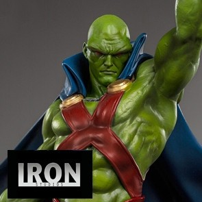 Iron Studios - Martian Manhunter - DC Comics - Art Scale Statue - Ivan Reis