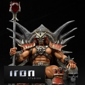 Iron Studios - Shao Khan - Mortal Kombat - Deluxe Art Scale