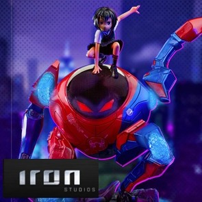 Iron Studios - Peni Parker & SP//dr - Spider-Man: Into the Spider-Verse