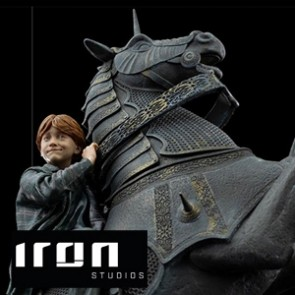 Iron Studios - Ron Weasley at the Wizard Chess - Harry Potter - Deluxe Art Scale Statue