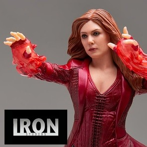 Iron Studios - Scarlet Witch - Avengers: Endgame - Art Scale Statue