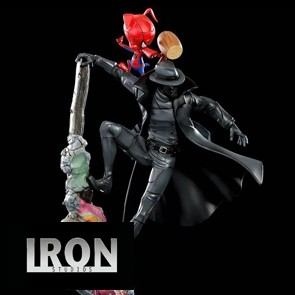 Iron Studios - Noir & Spider-Ham - In to the Spider-Verse - BDS Art Scale Statue