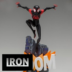Iron Studios - Miles Morales - In to the Spider-Verse - BDS Art Scale Statue