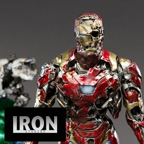 Iron Studios - Iron Man Illusion - Spider-Man: Far From Home - Deluxe Art Scal