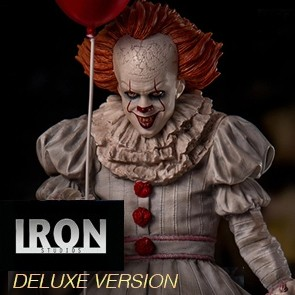 Iron Studios - Pennywise - Stephen Kings ES 2017 - Deluxe Art Scale Statue