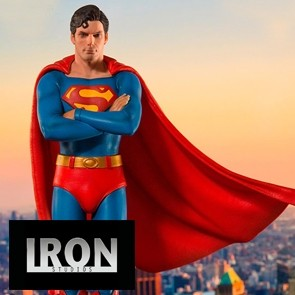 Iron Studios - Superman - Deluxe Art Scale Statue - The Movie 1978