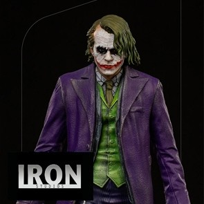 Iron Studios - Joker - The Dark Knight - Deluxe Art Scale Statue
