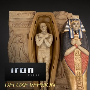 Iron Studios -The Mummy - Universal Monsters - Deluxe Art Scale Statue