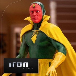Iron Studios - Vision Halloween Version - WandaVision - Art Scale Statue