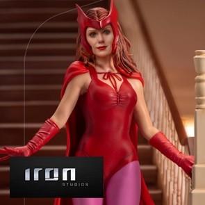 Iron Studios - Wanda Halloween Version - WandaVision - Art Scale Statue