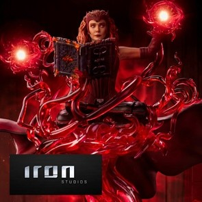 Iron Studios - Scarlet Witch - WandaVision - Deluxe Art Scale Statue
