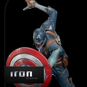 Iron Studios - Captain America Zombie - What If...? - Art Scale Statue