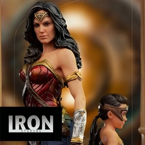 Iron Studios - Wonder Woman & Young Diana - Wonder Woman 1984 - Deluxe Art Scale