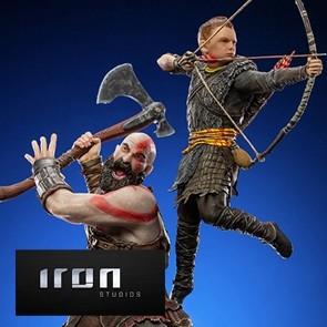 Iron Studios - God of War - Kratos & Atreus - BDS Art Scale Statue